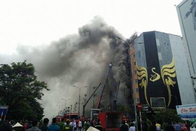 Quán karaoke bị cháy ở Trần Thái Tông chưa đủ điều kiện kinh doanh
