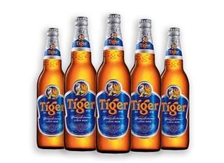 Bắt quả tang cơ sở sản xuất bia Tiger giả