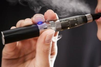 Thuốc lá điện tử không nguồn gốc có thể gây cháy nổ, độc hại