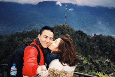 MC Hoàng Linh hạnh phúc bên tình mới sau khi chia tay chồng