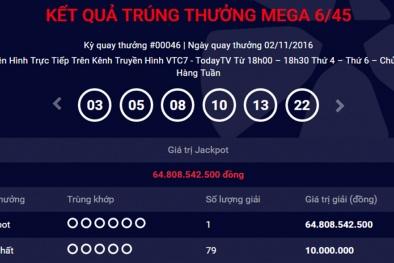 Người trúng xổ số 65 tỷ đeo mặt nạ Psy nhận giải