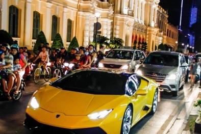 Ngắm dàn siêu xe mới giá hàng chục tỷ đồng của đại gia Cường đô la