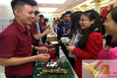 Giới trẻ nô nức tham gia Ngày hội Khởi nghiệp đổi mới sáng tạo 2016