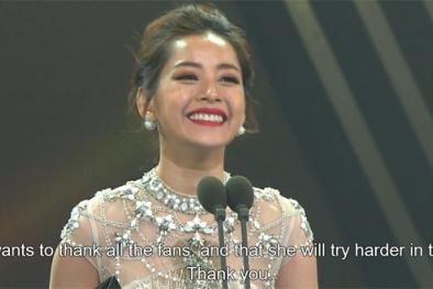 Chi Pu bất ngờ thắng giải 'Ngôi sao mới châu Á' tại Hàn Quốc