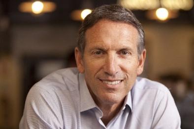 Howard Schultz: Từ một nhân viên 'quèn' trở thành CEO của Starbucks
