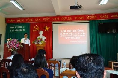 Quảng Ninh: Cải tiến Hệ thống quản lý chất lượng theo ISO 9001:2008