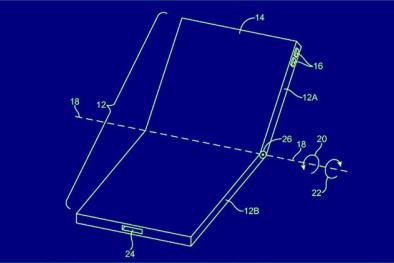 Apple rò rỉ bằng sáng chế màn hình điện thoại gập?