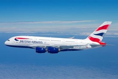 Black Friday: Hãng hàng không British Airways giảm 49% giá vé