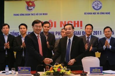 Bộ KH&CN và Trung ương Đoàn ký kết hỗ trợ thanh niên khởi nghiệp