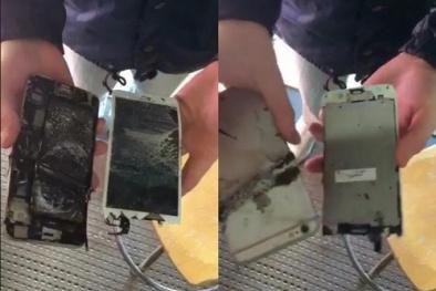 iPhone 6 Plus phát nổ, bốc khói nghi ngút trong lớp học