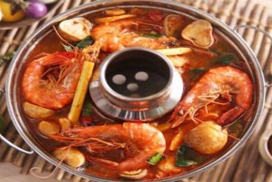 Cuối tuần làm món lẩu Thái hải sản đãi cả nhà