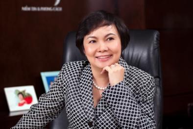 Chân dung người vợ doanh nhân quyền lực của ông Trần Phương Bình