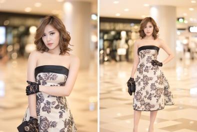 Milan Phạm nổi bật giữa dàn hot girl với phong cách quý cô
