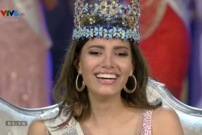 Người đẹp 19 tuổi Puerto Rico đăng quang Hoa hậu thế giới 2016