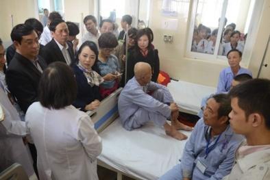 Bộ trưởng Bộ Y tế đi thị sát: 7 cán bộ Bệnh viện K bị kỷ luật