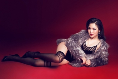 'Nóng rực' với bộ ảnh đón Giáng sinh 2016 của Hương Tràm