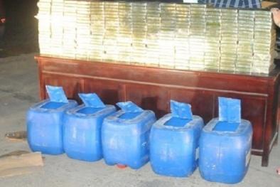 Phát hiện 'xưởng' sản xuất ma túy đá khủng ngay trong lòng thủ đô