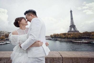 Ảnh cưới đẹp như mơ của Trấn Thành và Hari Won ở Pháp