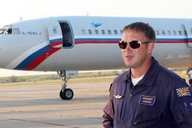 Máy bay Nga rơi xuống biển: Chân dung phi công chính lái chiếc máy bay