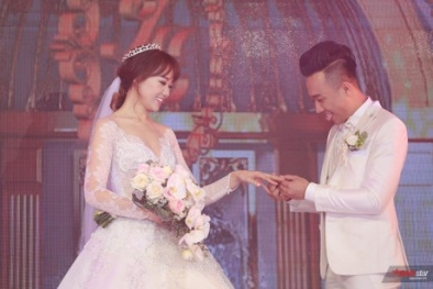 Sao Việt lộng lẫy đến chúc mừng đám cưới Trấn Thành