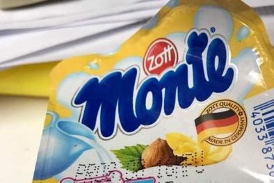 Nhiều trường hợp váng sữa Monte bị mốc đen trong khi hạn dùng vẫn còn