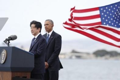 Hình ảnh đầu tiên Thủ tướng Nhật thăm Trân Châu Cảng