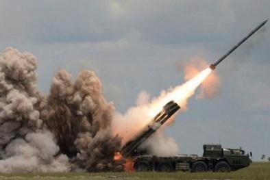 Pháo phản lực Tornado-S Nga vừa tiếp nhận mạnh gần bằng bom nguyên tử