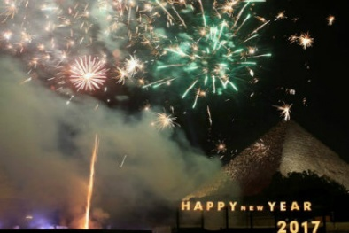 Tết dương lịch 2017: Không khí đón năm mới tưng bừng trên toàn thế giới