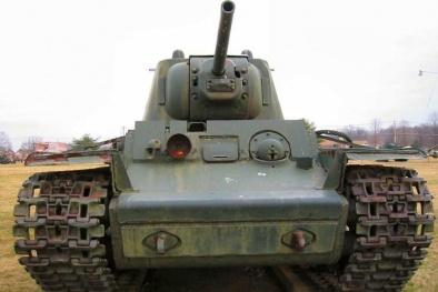 Xe tăng hạng nặng KV của Nga có thể bắn hạ bất cứ loại tăng nào
