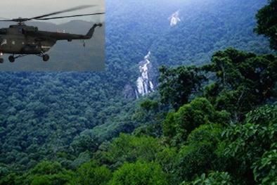 Máy bay quân sự Venezuela chở 13 người mất tích trong rừng Amazon