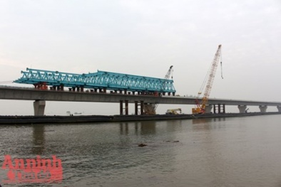 Hải Phòng: Hợp long cầu vượt biển dài nhất Đông Nam Á
