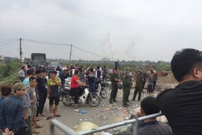 Hà Nội: Người dân kéo nhau đi phản đối đốt rác gây ô nhiễm môi trường
