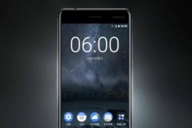 Nokia 6 bất ngờ ra mắt: Full HD, thân nguyên khối, RAM 4 GB