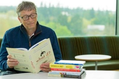 5 cuốn sách tỷ phú Bill Gates cho rằng đáng đọc nhất