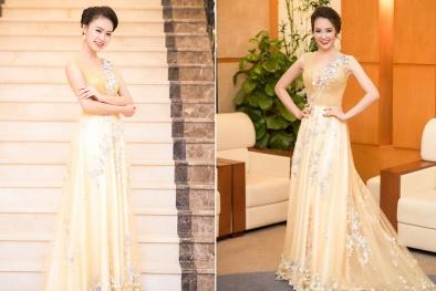 Sau Hoa hậu Việt Nam, Ngọc Vân ngày càng yêu kiều và quyến rũ