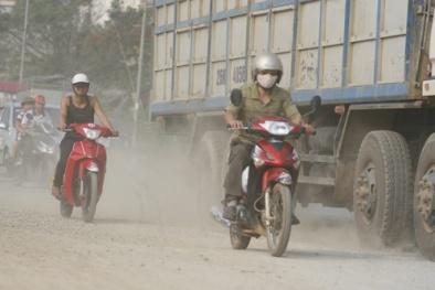 Ô nhiễm không khí tại phố Nhổn đang ở mức nguy hiểm