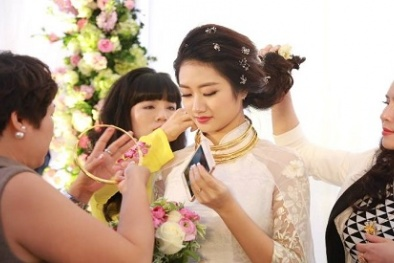 Loạt quà cưới 'khủng' chồng đại gia tặng Hoa hậu Thu Ngân