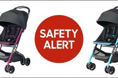 Các bà mẹ hãy lưu ý điều này khi sử dụng xe đẩy trẻ em