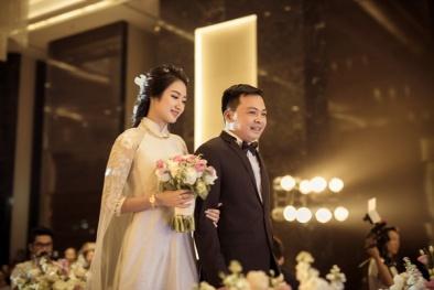 Phóng sự ảnh: Những khoảnh khắc ấn tượng trong đám cưới Hoa hậu Thu Ngân