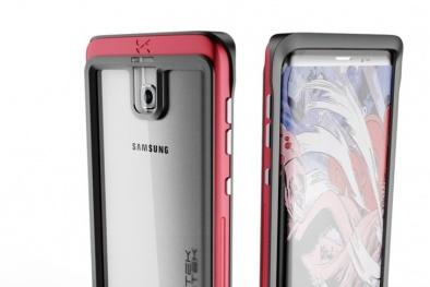 Cận cảnh thiết kế Samsung Galaxy S8 'rò rỉ' trong quảng cáo ốp lưng