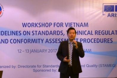Hội thảo về tiêu chuẩn, quy chuẩn kỹ thuật và quy trình đánh giá sự phù hợp trong ASEAN