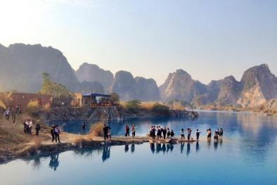 Check-in hồ nước xanh như Cửu Trại Câu đang gây sốt ở Hải Phòng