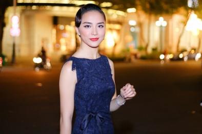Người đẹp từng khiến tỷ phú Hoàng Kiều say đắm nổi bật với váy ren quyến rũ