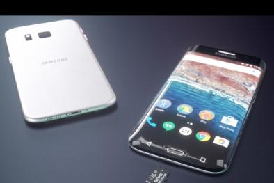 Tiết lộ hình ảnh mới lộ diện của 'siêu phẩm' Samsung Galaxy S8 edge