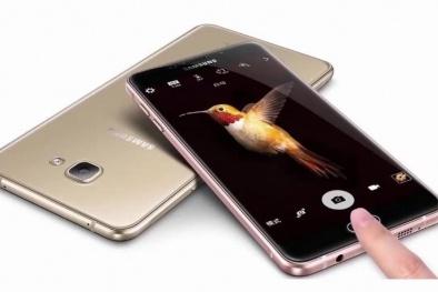 Cận cảnh chiếc Samsung Galaxy C9 Pro 'của hiếm' tại Việt Nam