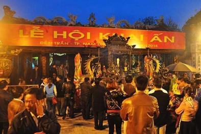 Lễ hội đền Trần Nam Định sẽ phát ấn từ 5h sáng