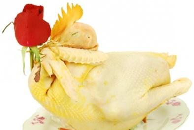 Cách làm món gà luộc cúng giao thừa thơm ngon vàng óng
