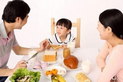 Bỏ bữa sáng hoặc ăn tối muộn làm tăng nguy cơ đau tim và đột quỵ