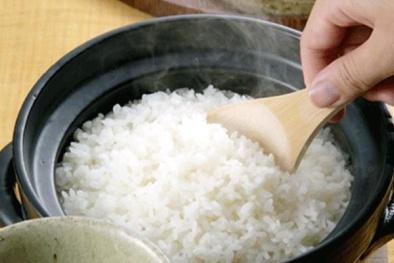 Nấu cơm sai cách có thể nhiễm chất độc asen gây ung thư