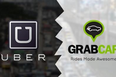 Uber và Grab phải gắn phù hiệu như taxi?